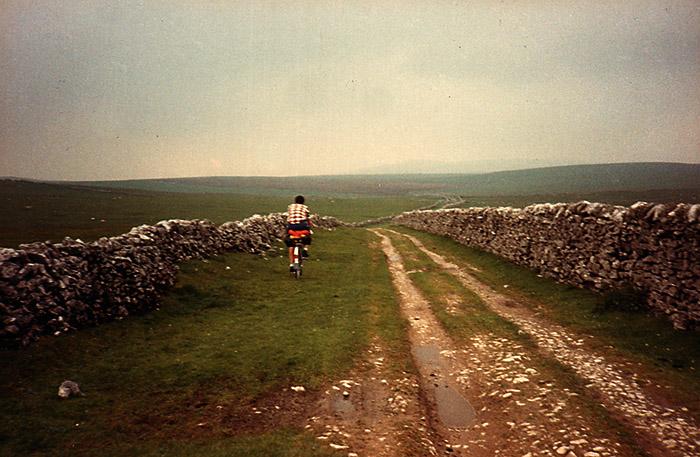 Barry Jones ABC Centreville cycling Mastiles Lane