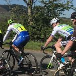 Sweet Bashall: Ben and Steve at the West Pennine Road race
