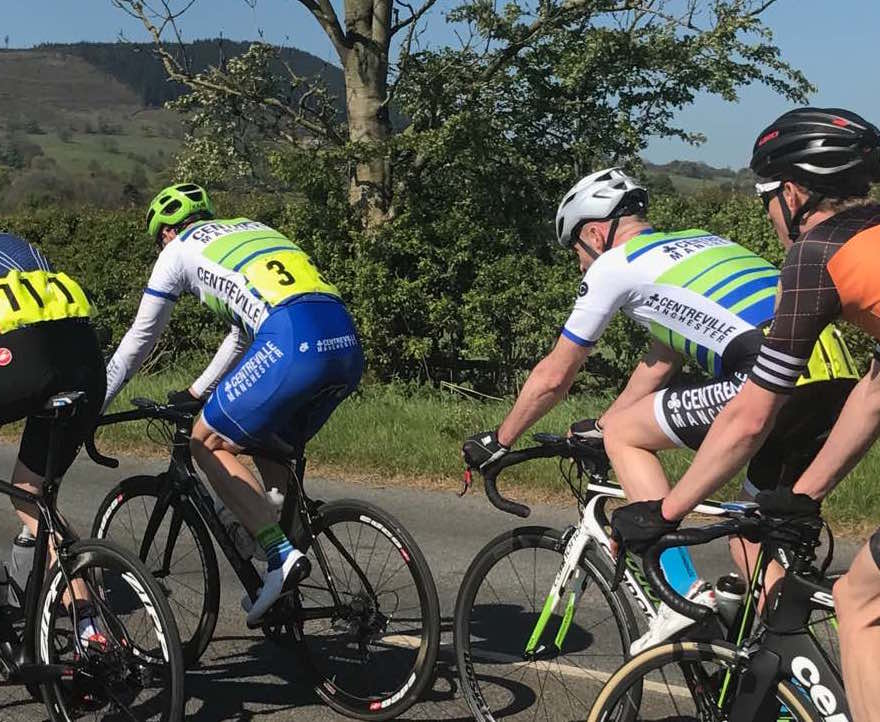 ABC Centreville Cycling Club Manchester road racing Bashall Eaves