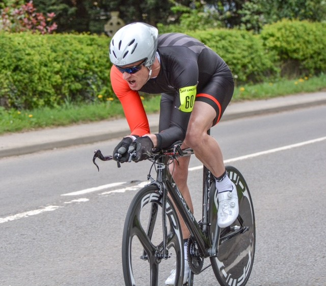 ABC Centreville Cycling Club Manchester Steve Whittington at East Lancs 10