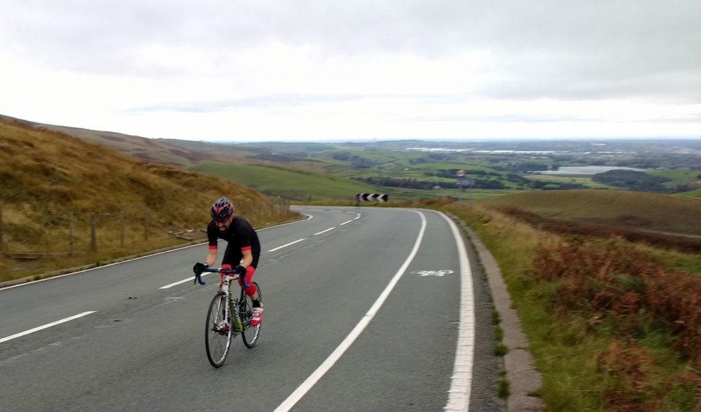 Andy MacLaughlin 1_ABC Centreville cycling club_Weste Pennine Hill Climb