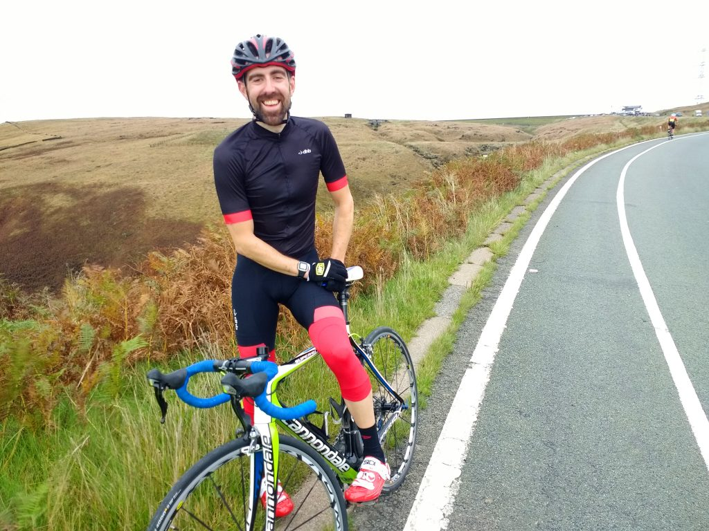 Andy McLaughlin_ABC Centreville cycling club_West Pennine Hill Climb